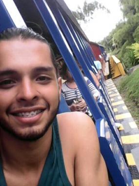 Diego Blanco pakkovärvättiin Kolumbian armeijaan. Kuva: WRI