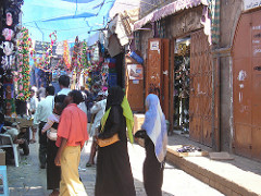 Katukuvaa Jemenistä
