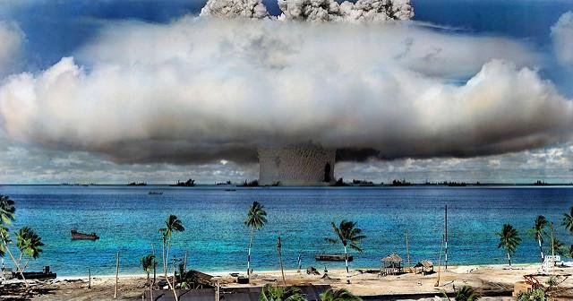 Yhdysvaltain ydinkoe Bikinin atollilla 1946