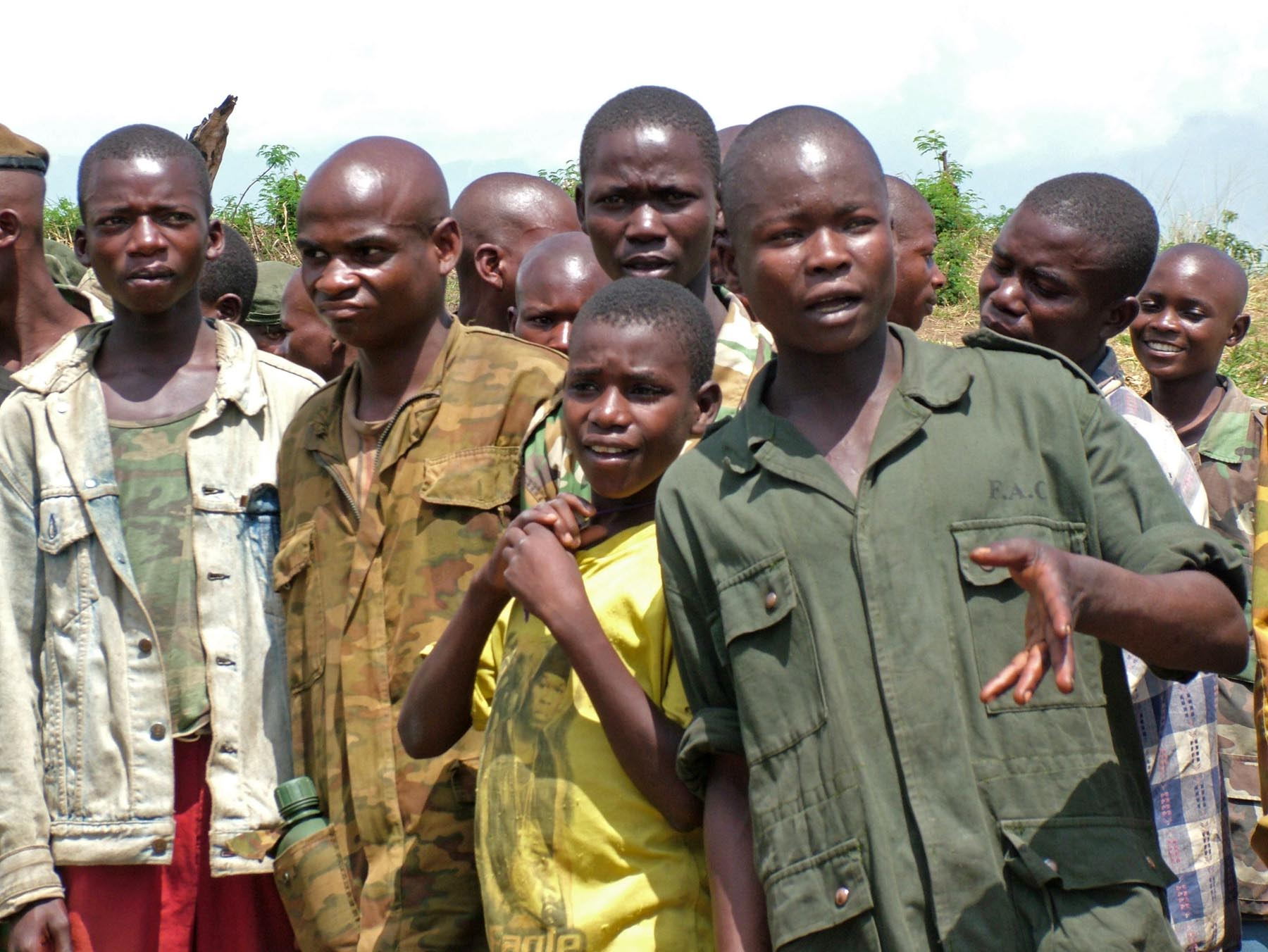 Lapsisotilaita Kongossa. Kuva: Wikimedia Commons.