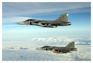 Ruotsalainen Saab on onnistunut myymään Jas 39 Gripen-hävittäjä vain neljään maahan.