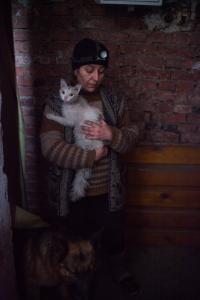 Ukrainan sodassa on kuollut yli 10 000 ihmistä ja kaksi miljoonaa on joutunut jättämään kotinsa. Kuva: Olya Morvan
